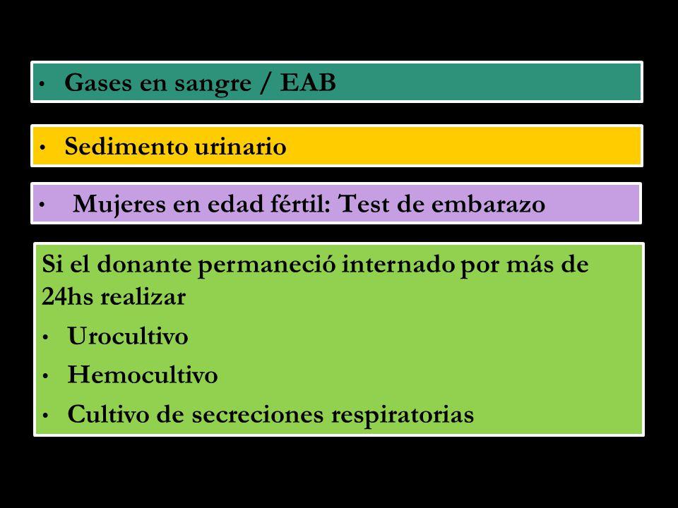 Objetivo: Conseguir la viabilidad del injerto, la evolución normal del trasplantado y predecir probables complicaciones.
