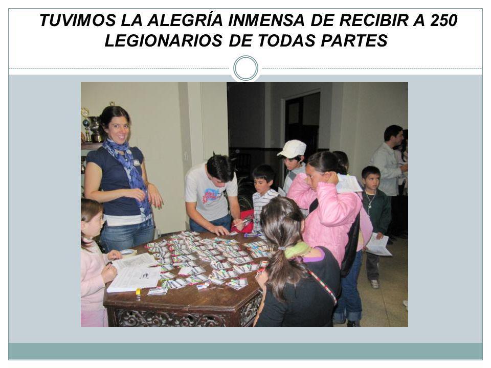 LEGIONARIOS ADULTOS DE LA VICARIA…. SIEMPRE AL SERVICIO : INCONDICIONALES!