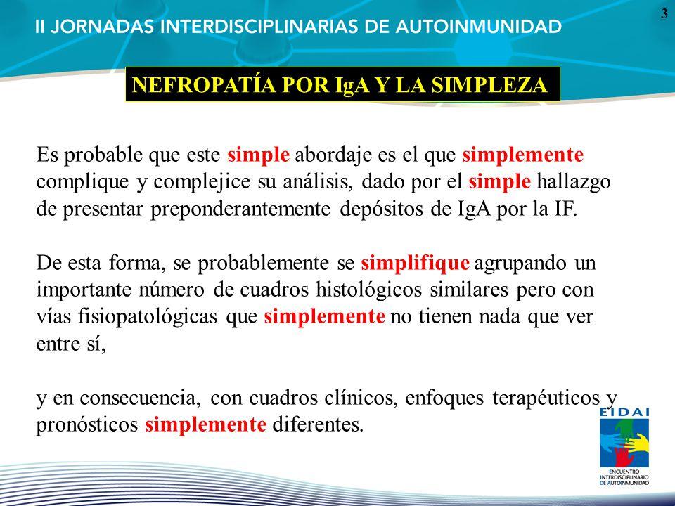 3 Es probable que este simple abordaje es el que simplemente complique y complejice su análisis, dado por el simple hallazgo de presentar preponderant