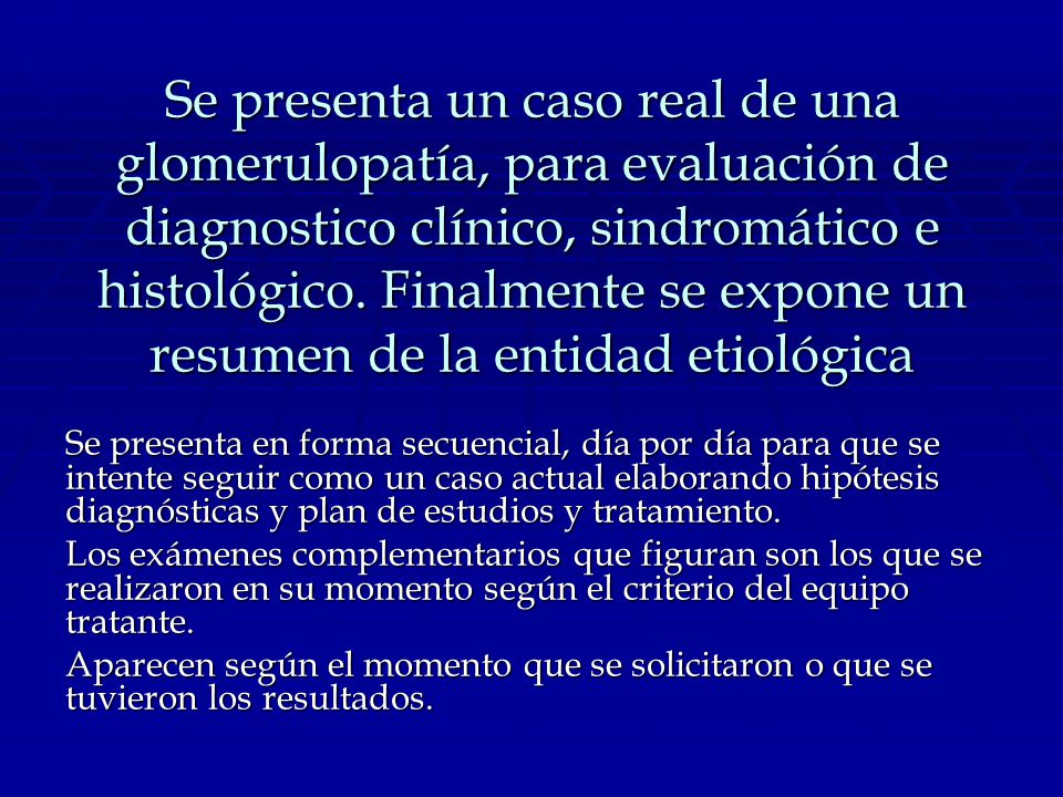 GLOMÉRULONEFRITIS MEMBRANOPROLIFERATIVA (MESANGIOCAPILAR)