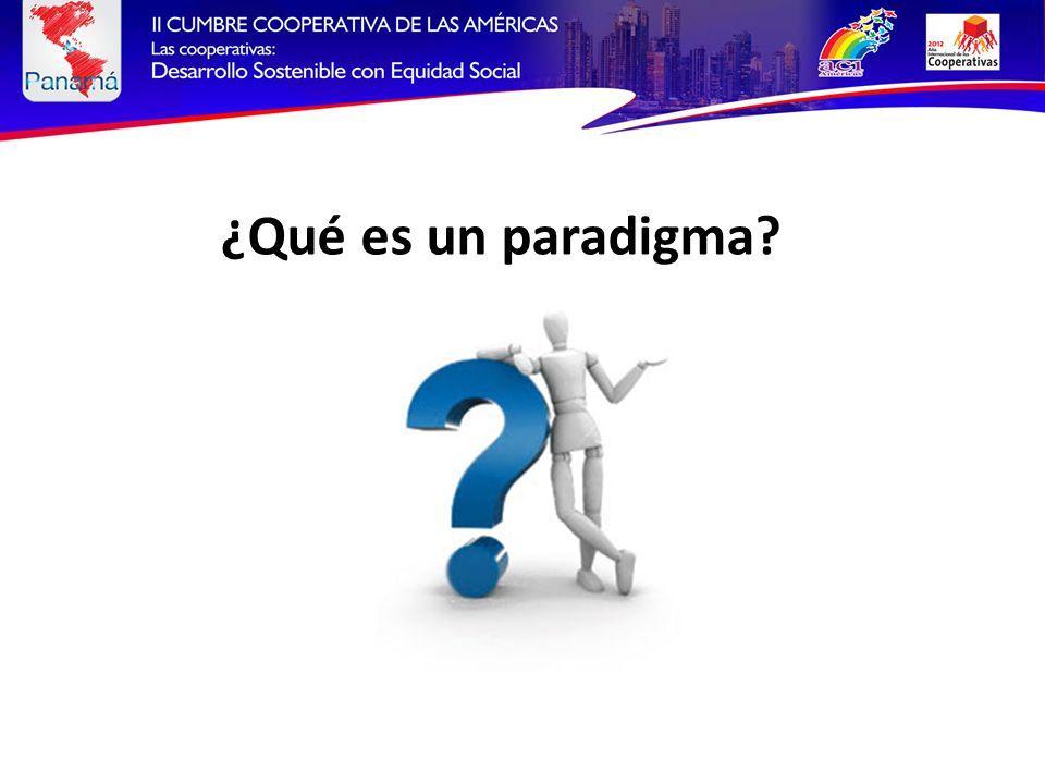 ¿Qué es un paradigma?