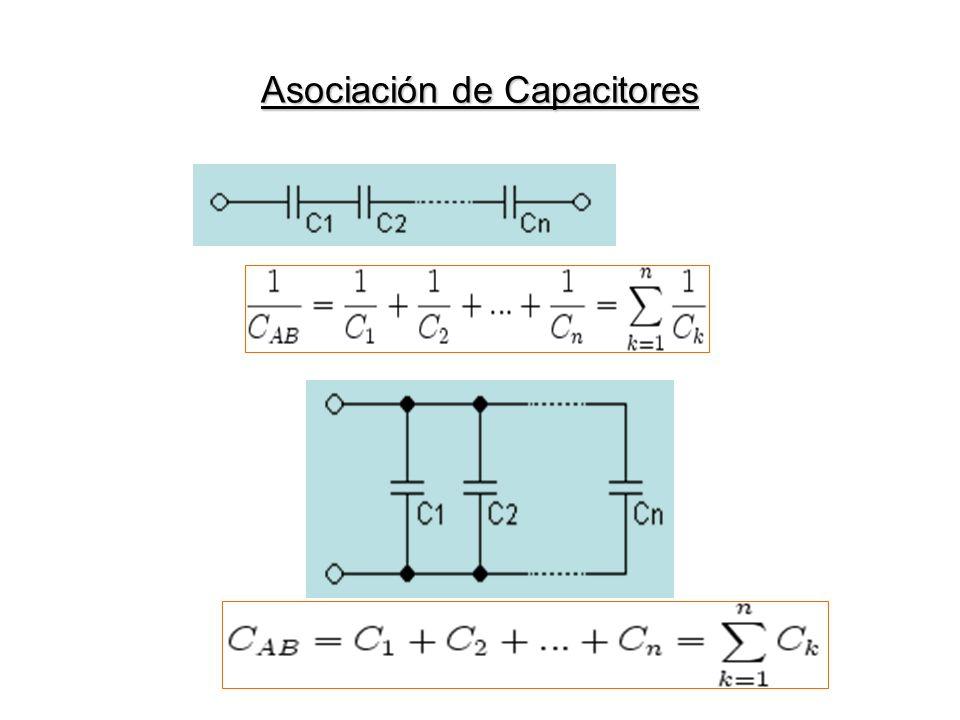 Asociación de Capacitores