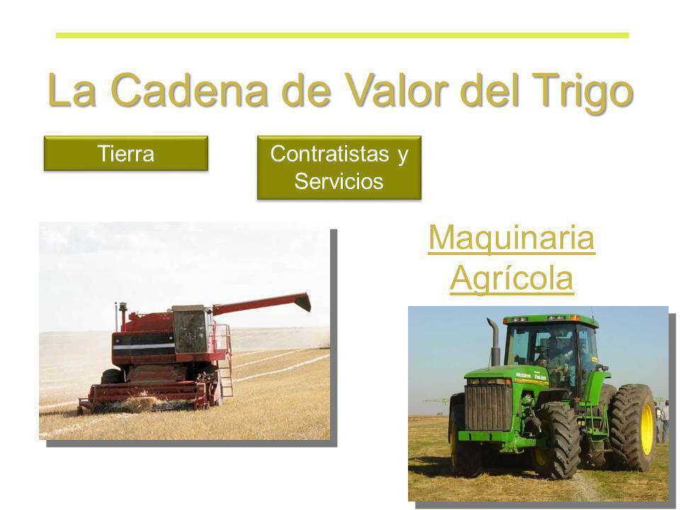 La Cadena de Valor del Trigo Tierra Contratistas y Servicios Maquinaria Agrícola