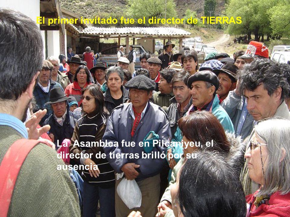 La seguiremos lu1hiv@yahoo.com Porque como dicen nuestros Obispos del Comahue, la tierra no es un objeto de especulación inmobiliaria, sino un regalo de Dios para la Vida…