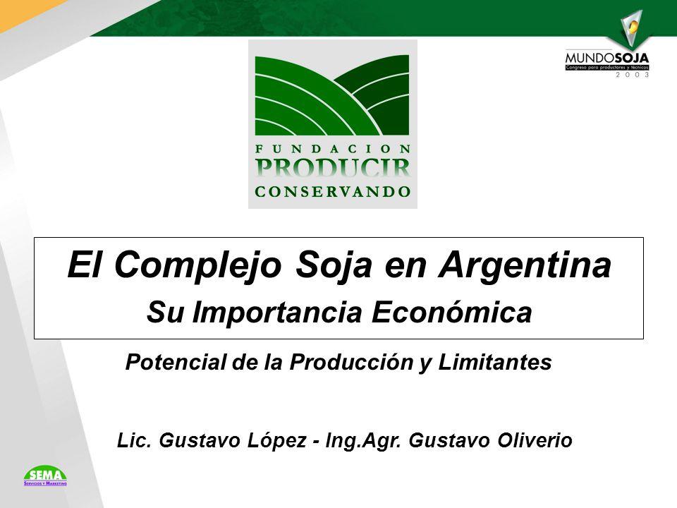 El Complejo Soja en Argentina Su Importancia Económica Lic.