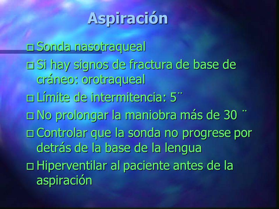 Manejo de la Vía Aérea Métodos Mecánicos o Vía Aérea Orofaringea o Vía Aérea Nasofaringea o Aspiración o Intubación Esofágica o Intubación Endotraquea