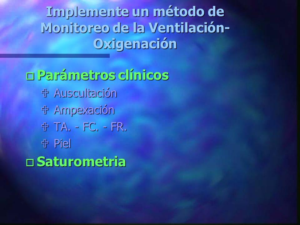 El paciente politraumatizado debe ser ventilado y oxigenado adecuadamente antes de intentar una intubación