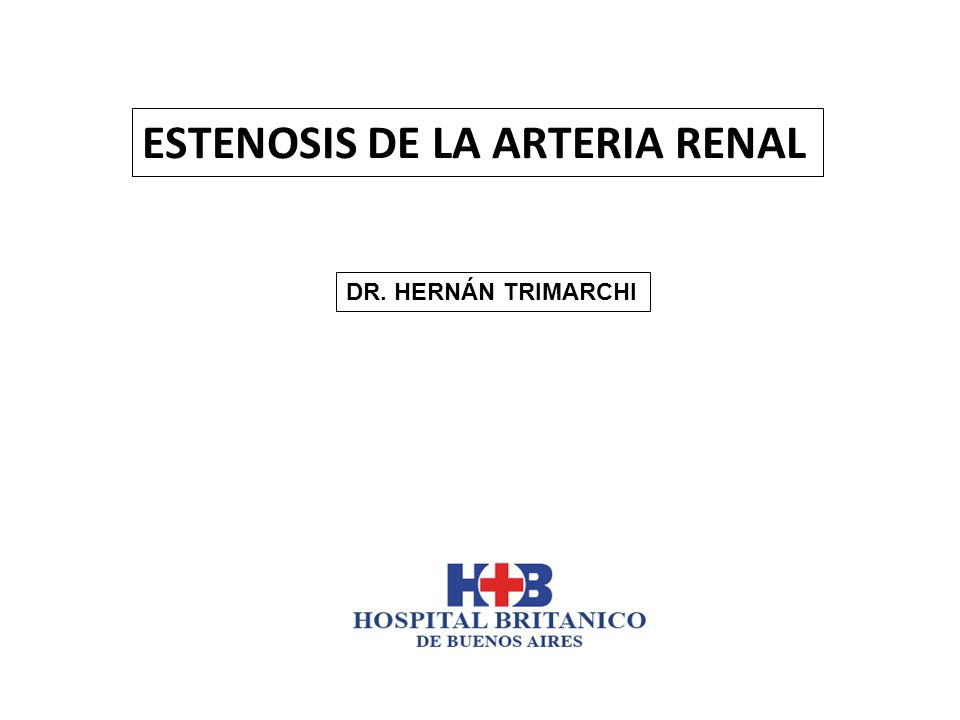 Atherosclerotic Renal Artery Stenosis: Overtreated but Underrated.