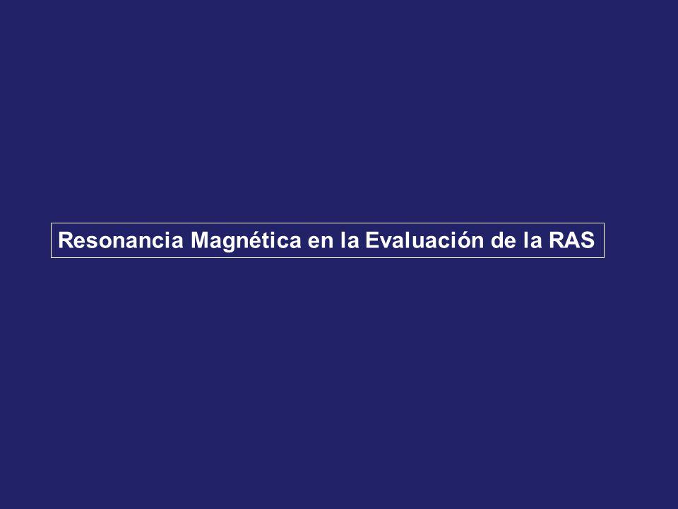 Resonancia Magnética en la Evaluación de la RAS