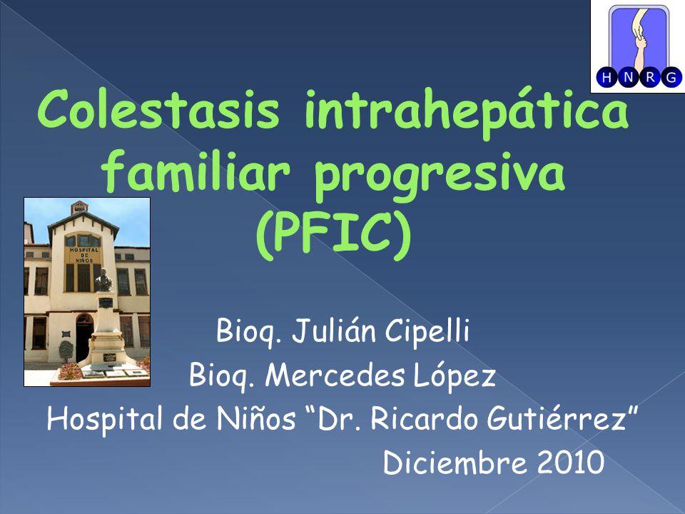 Bioq.Julián Cipelli Bioq. Mercedes López Hospital de Niños Dr.