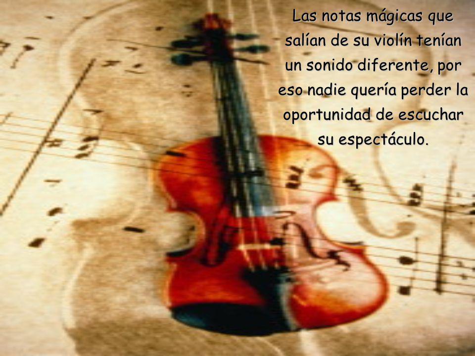 ÉRASE UNA VEZ... un gran violinista llamado PAGANINI. Algunos decían que era muy extraño. Otros, que era sobrenatural.