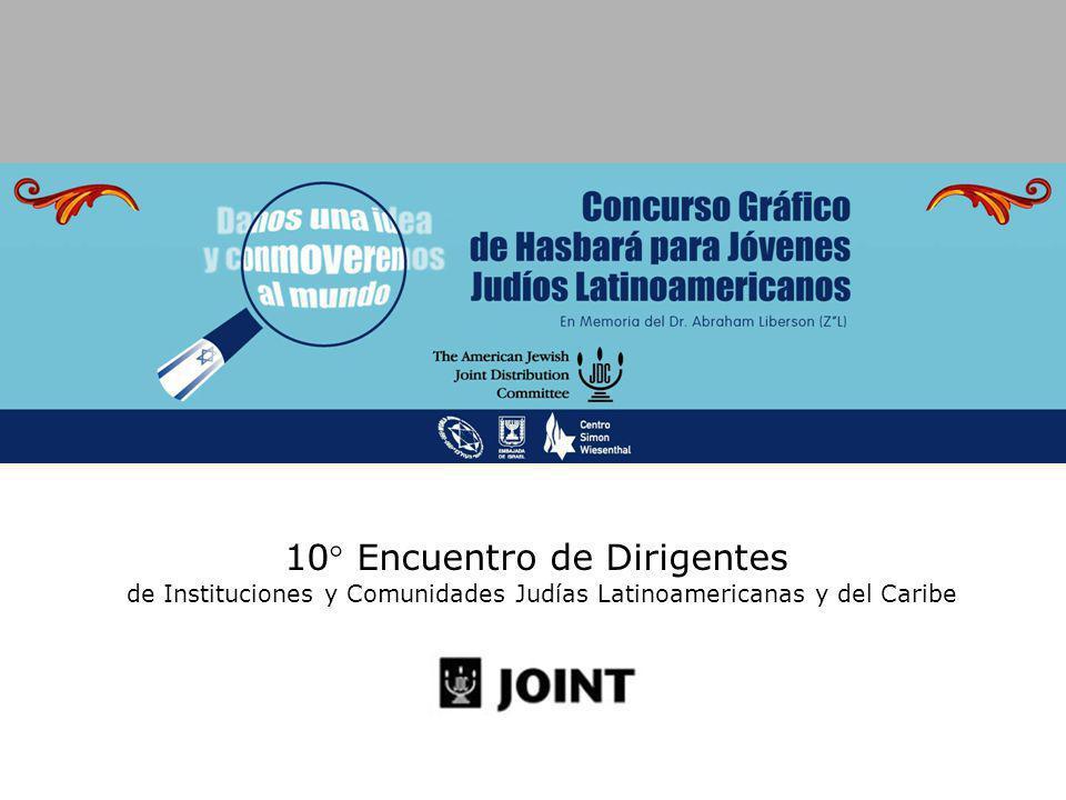 10° Encuentro de Dirigentes de Instituciones y Comunidades Judías Latinoamericanas y del Caribe