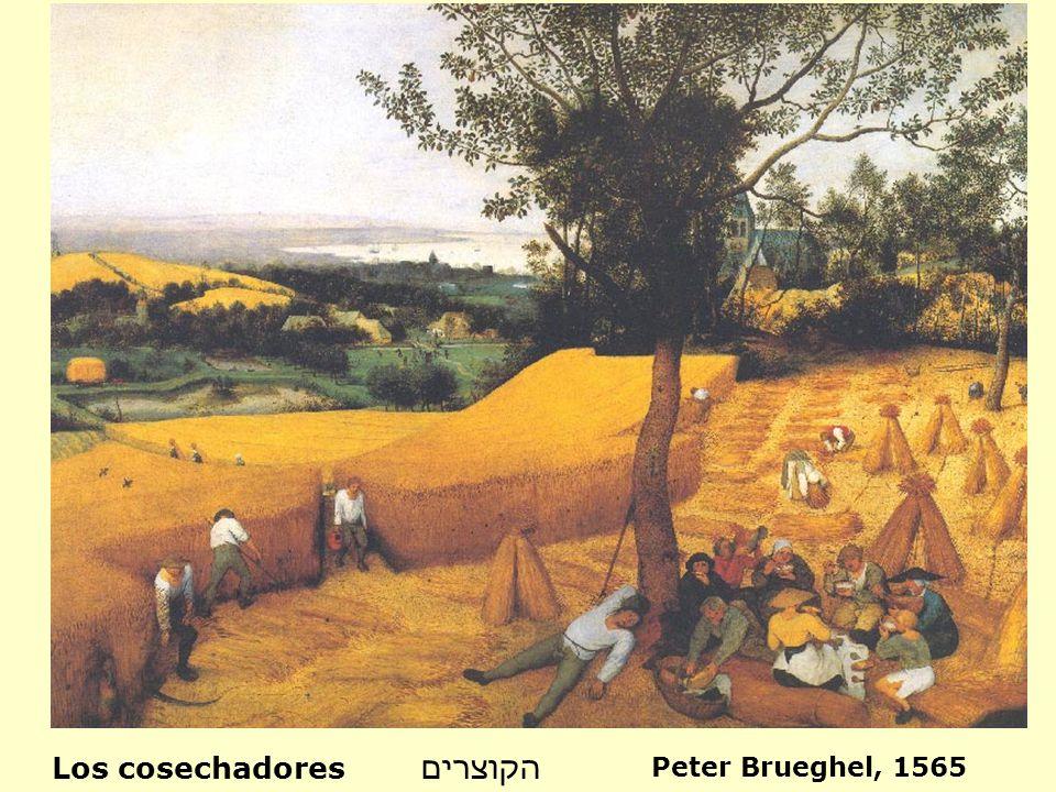 Los cosechadores הקוצרים Peter Brueghel, 1565