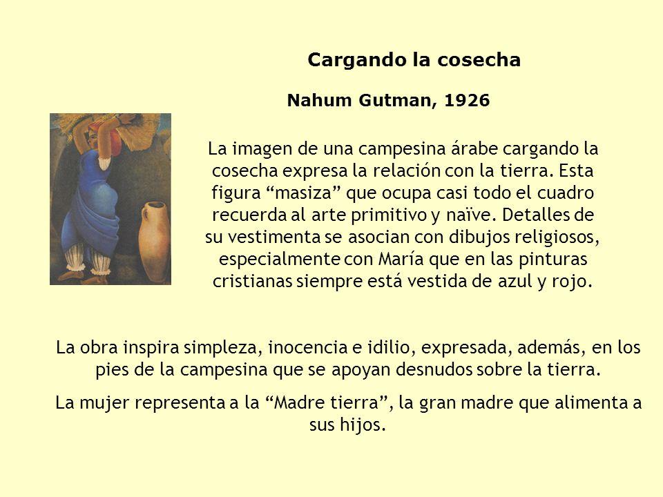 Nahum Gutman, 1926 Descanso de mediodía מנוחת צהריים
