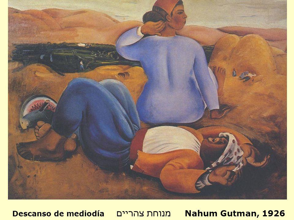 Esta es una obra más en la que Gutman busca representar las raíces del hombre en su tierra y la simpleza del trabajo del campesino que la labra.