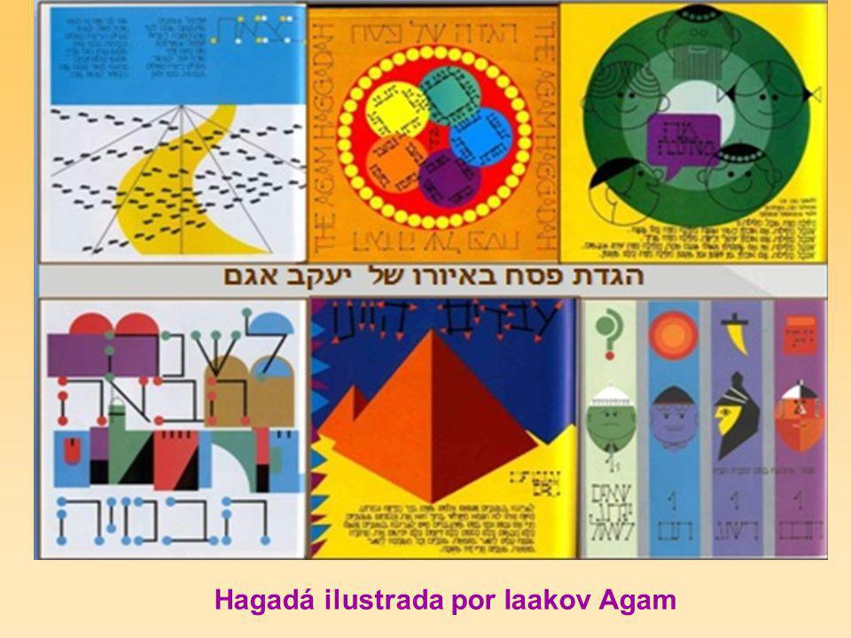 Hagadá ilustrada por Iaakov Agam