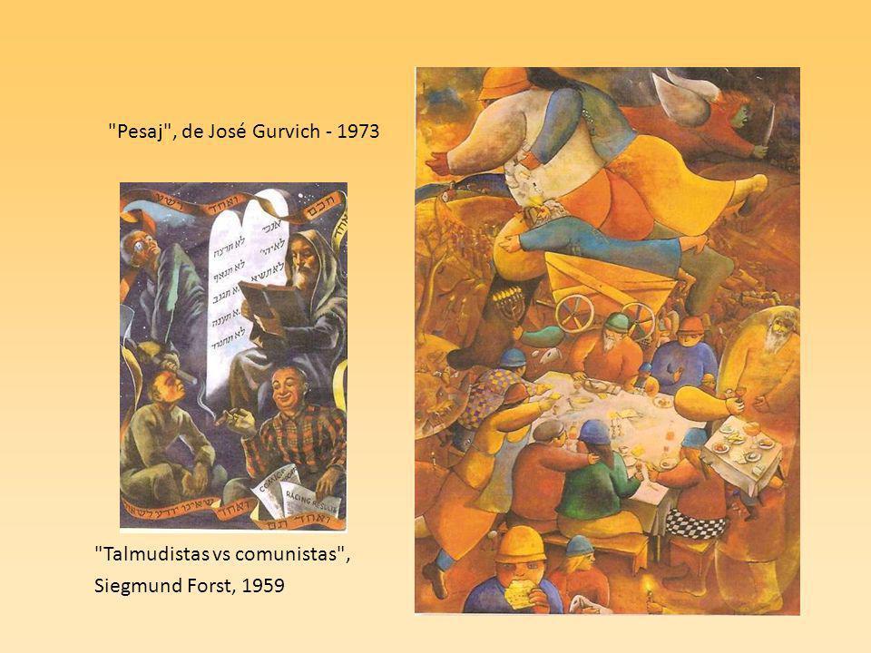 Pesaj , de José Gurvich - 1973 Talmudistas vs comunistas , Siegmund Forst, 1959