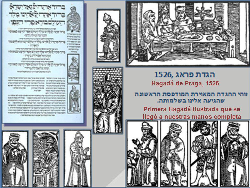 Hagadá de Praga, 1526 Primera Hagadá ilustrada que se llegó a nuestras manos completa
