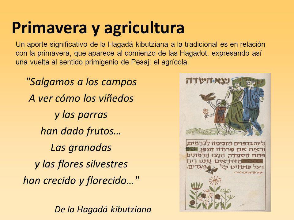 Primavera y agricultura