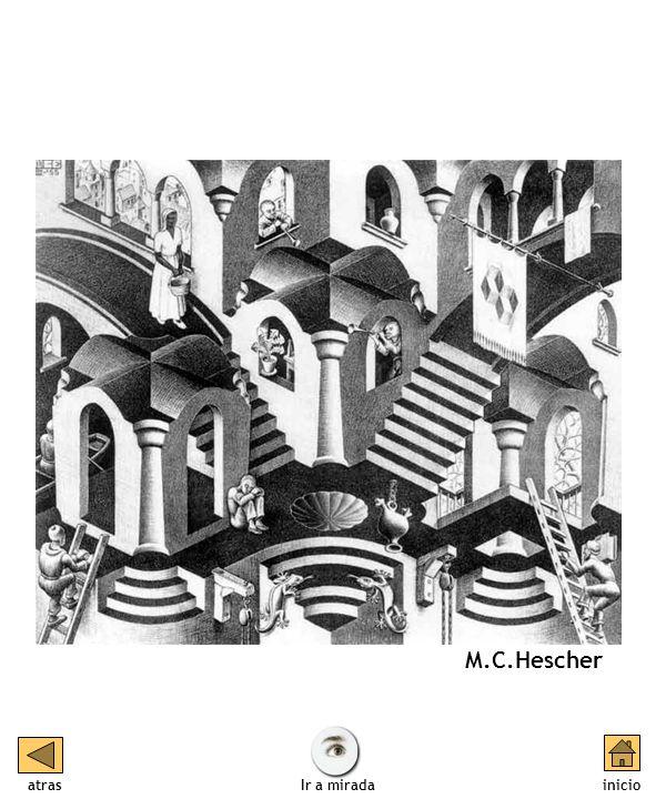 M.C.Hescher atras inicio Ir a mirada