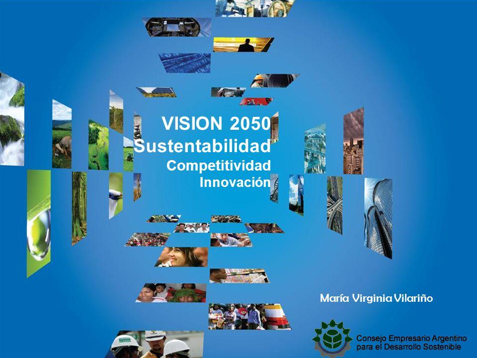 DEDICADOS A MARCAR LA DIFERENCIA María Virginia Vilariño VISION 2050 Sustentabilidad Competitividad Innovación