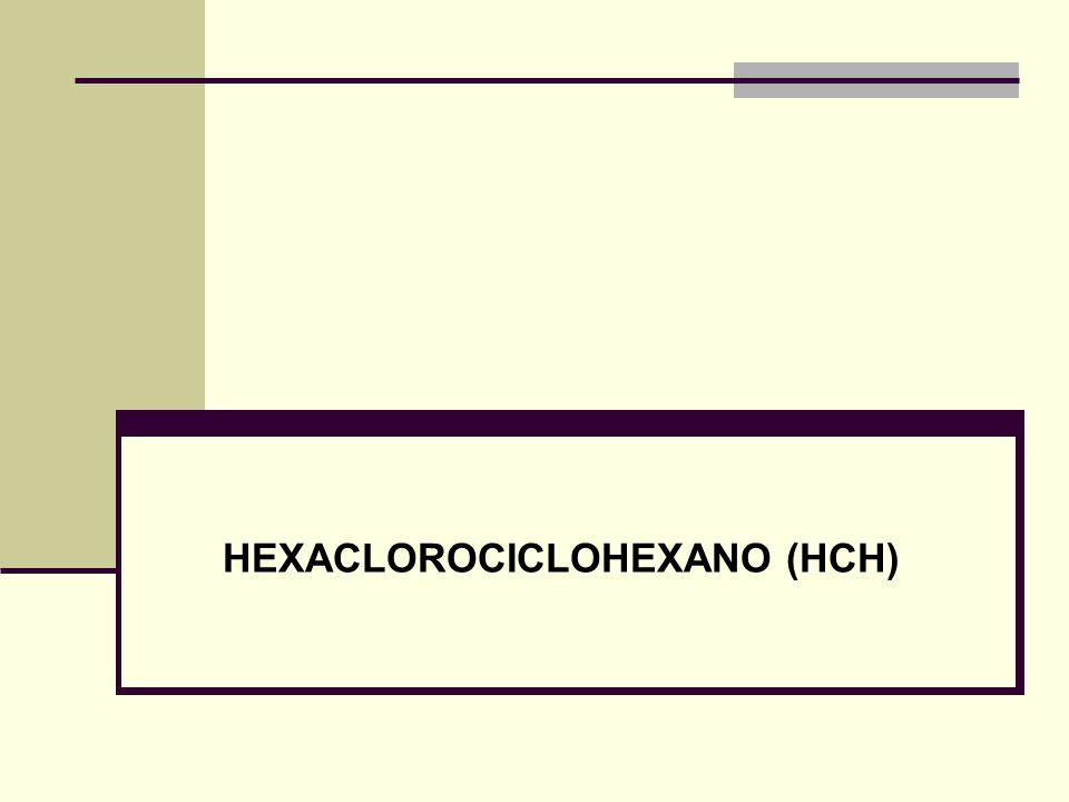 HEXACLOROCICLOHEXANO (HCH)