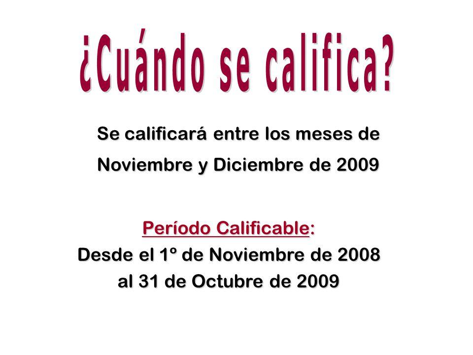 En Noviembre de 2009 el nuevo Fondo (70-30) con calificación actual En Febrero de 2010 incorporando la nueva calificación