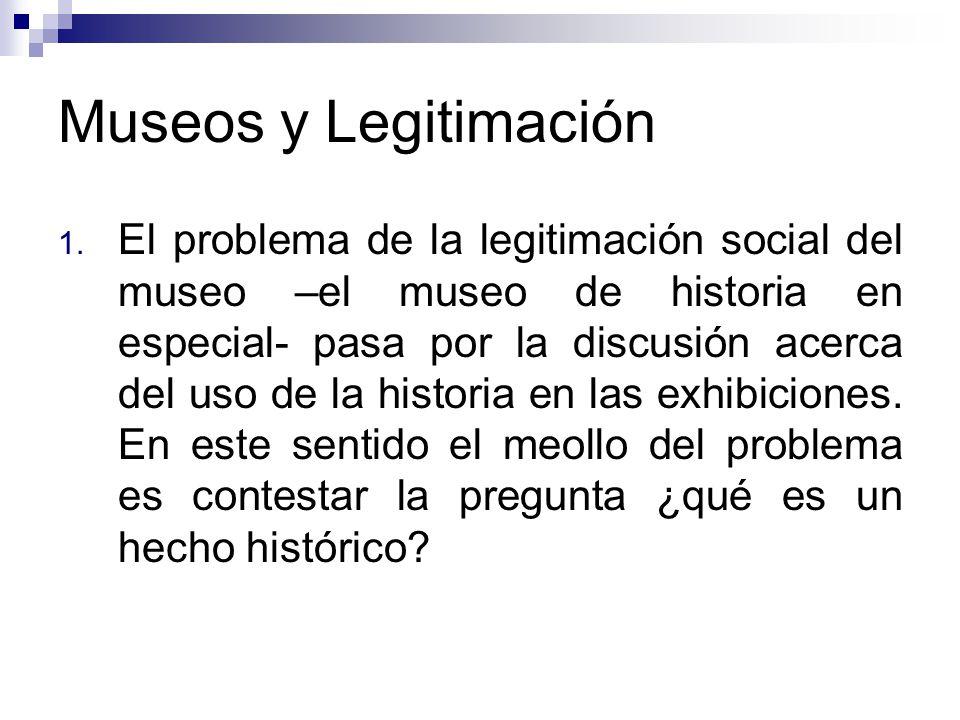 Museos y Legitimación 1.