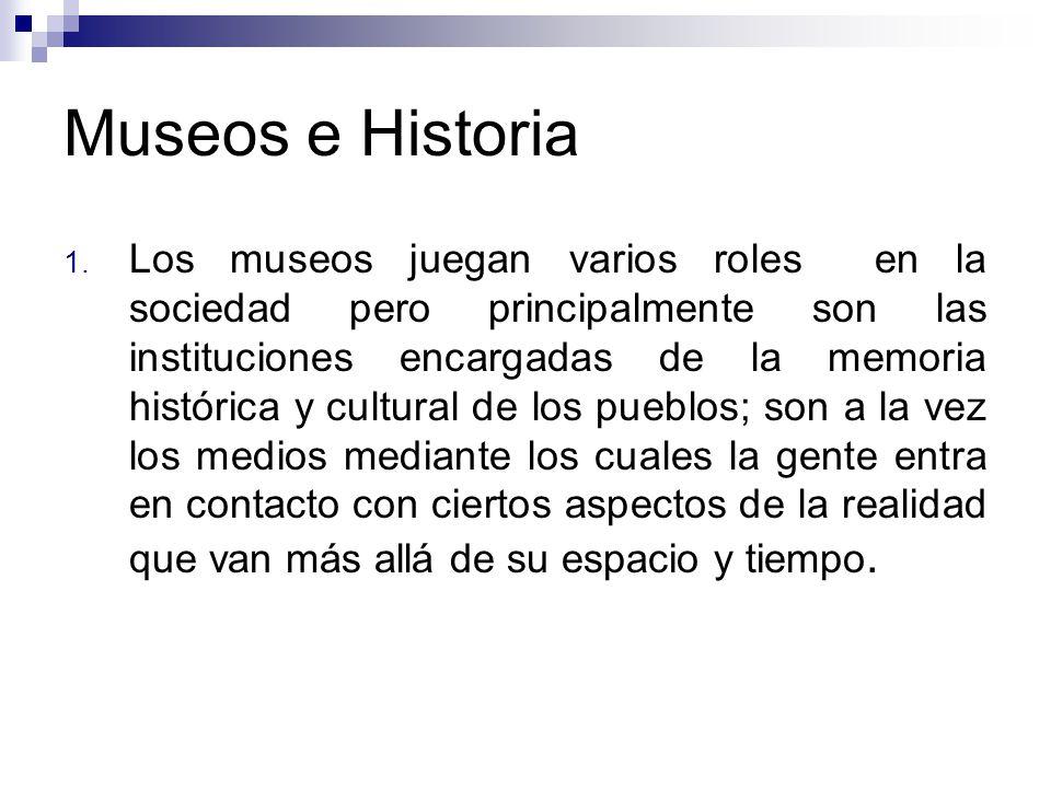 Museos e Historia 1.