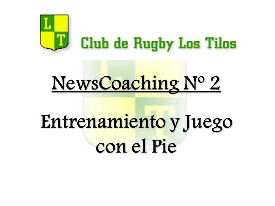 NewsCoaching Nº 2 Entrenamiento y Juego con el Pie
