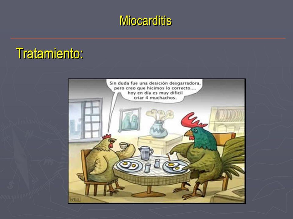 Tratamiento: Miocarditis