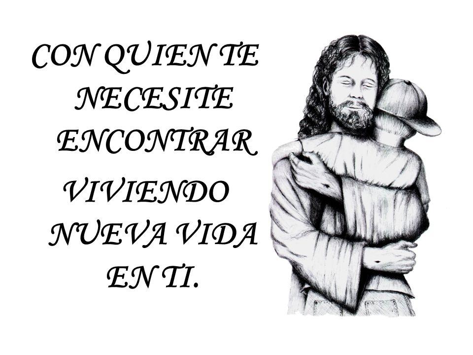 Y DANOS BUEN JESÚS ANELOS Y CORAJE PARA QUE EL EVANGELIO PODAMOS COMPARTIR.
