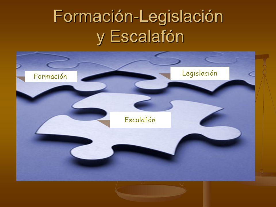 Formación-Legislación y Escalafón Formación Legislación Escalafón
