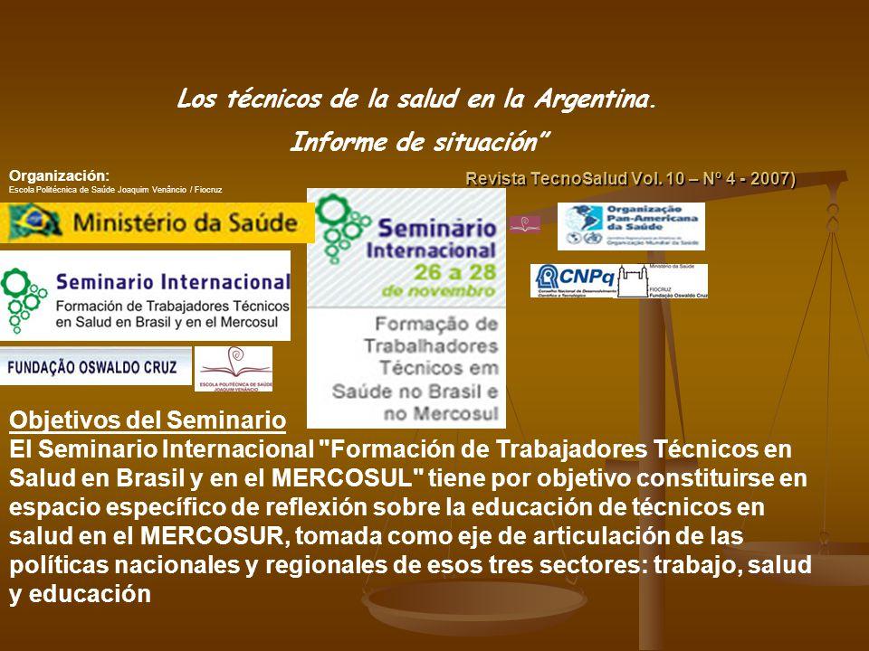 Muchas Gracias nzani@revistatecnosalud.com.ar En el compromiso y la participación de la comunidad técnica de la Argentina podremos darle a nuestra profesión el sentido que nosotros queremos En el compromiso y la participación de la comunidad técnica de la Argentina podremos darle a nuestra profesión el sentido que nosotros queremos.