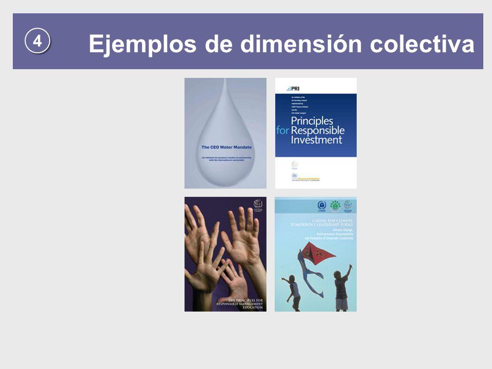 4 4 Ejemplos de dimensión colectiva