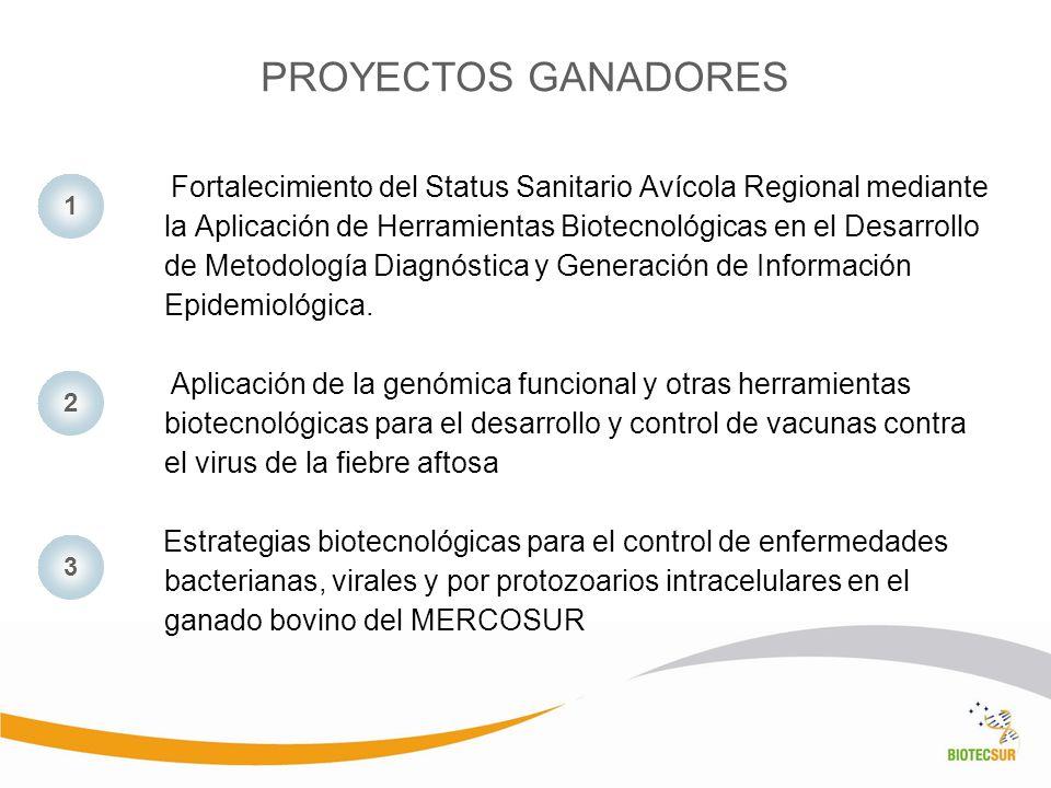 Fortalecimiento del Status Sanitario Avícola Regional mediante la Aplicación de Herramientas Biotecnológicas en el Desarrollo de Metodología Diagnósti