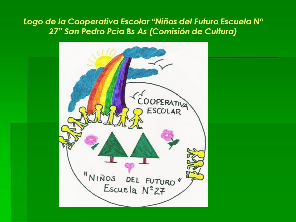 Logo de la Cooperativa Escolar Niños del Futuro Escuela N° 27 San Pedro Pcia Bs As (Comisión de Cultura)