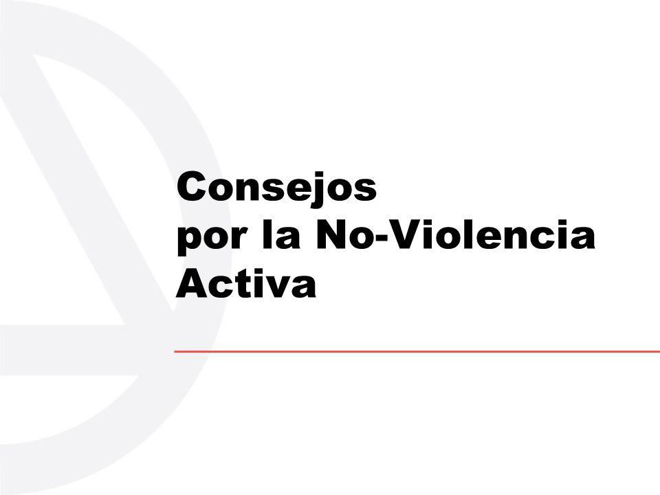 Consejos por la No-Violencia Activa