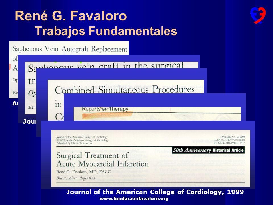 www.fundacionfavaloro.org METAANALISIS Lancet 1994;344:563-70 % MORTALIDAD SEGUIMIENTO p 0.0001p < 0.001 p 0.03