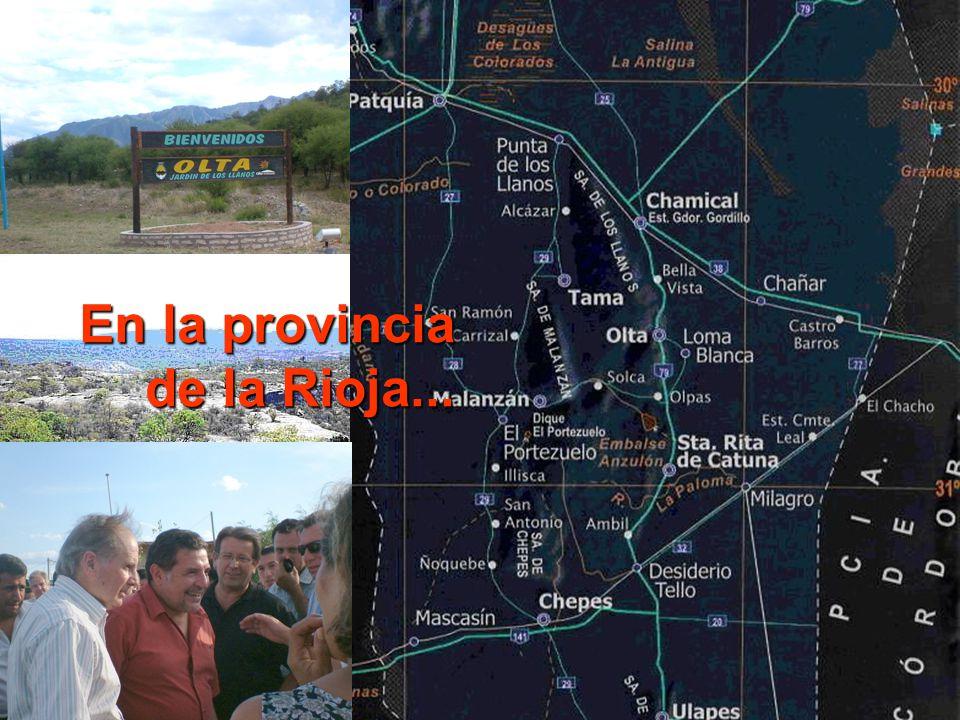 En la provincia de la Rioja...