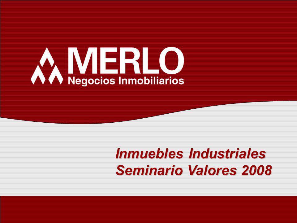 Inmuebles Industriales Seminario Valores 2008