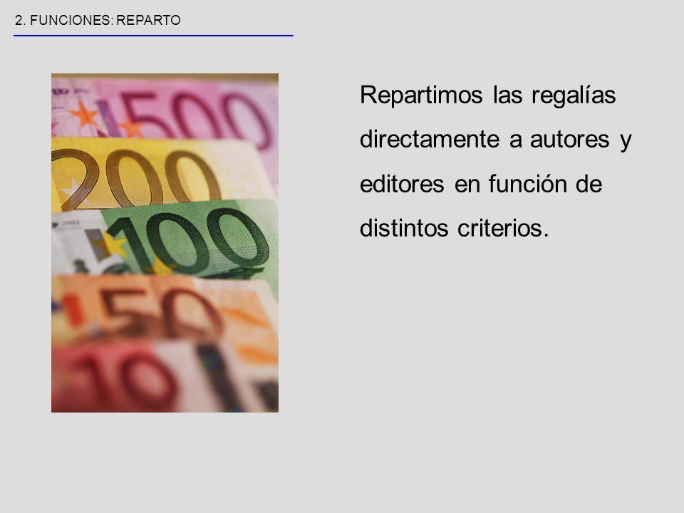 9 Inspeccionamos la actividad reprográfica y perseguimos los usos ilícitos de las obras de autores y editores.