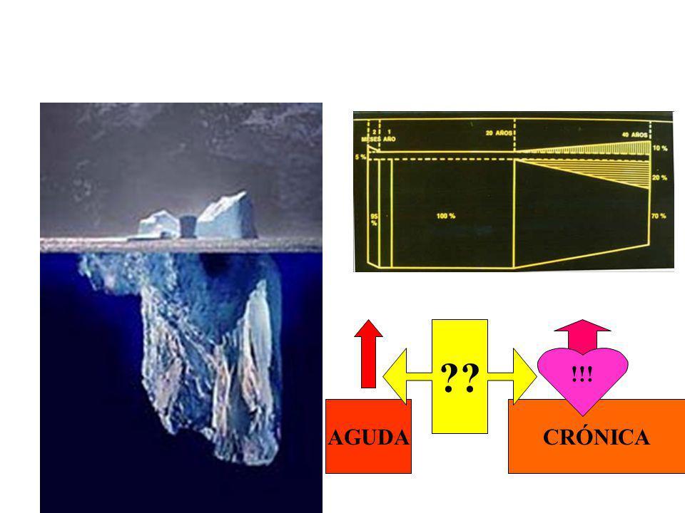 Historia Natural de la E. de Chagas El Iceberg de Cerisola y Rosenbaum AGUDACRÓNICA !!! ??