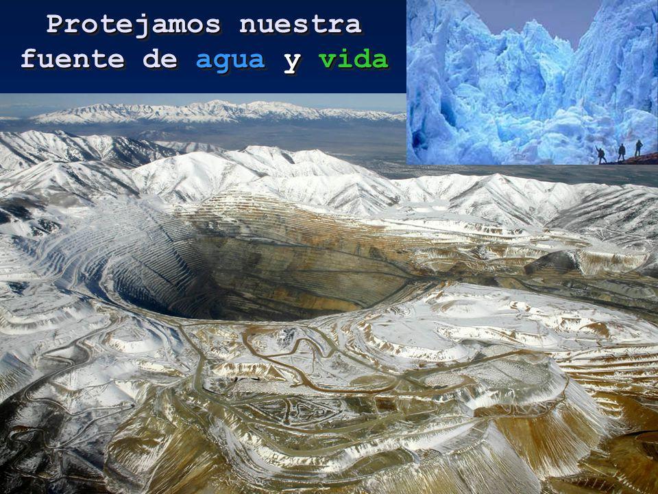 Entrá en www.noalamina.org y FIRMÁ por la Ley de Prohibición de la Megaminería Metalífera con uso de sustancias tóxicas y la Ley de Protección de Glaciares votada por unanimidad en el Congreso y vetada luego por la presidenta, permitiendo que se realicen emprendimientos mineros en nuestros glaciares.