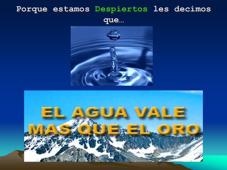 Protejamos nuestra fuente de agua y vida