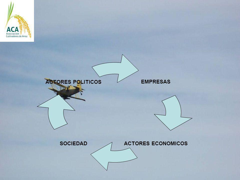 EMPRESAS ACTORES ECONOMICOS SOCIEDAD ACTORES POLITICOS