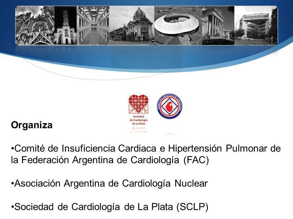 Organiza Comité de Insuficiencia Cardiaca e Hipertensión Pulmonar de la Federación Argentina de Cardiología (FAC) Asociación Argentina de Cardiología