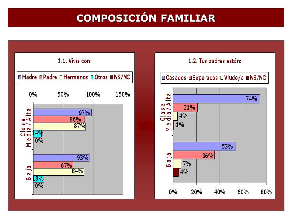 COMUNICACIÓN Y CONFLICTOS CON LOS PADRES 35% 40% Con ellos no se puede hablar.