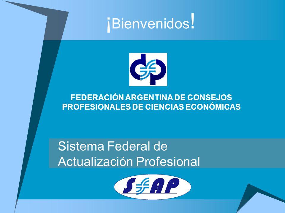 Es un sistema que otorga créditos a todos los profesionales que se actualizan dentro y fuera del país.
