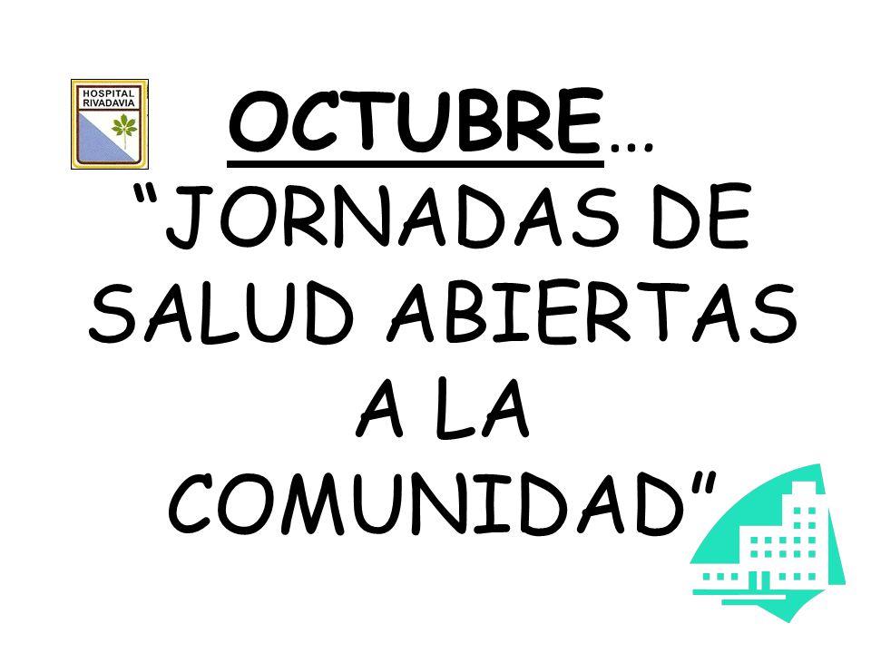Desde el 24 al 28 de Octubre de 8.30 a 12.30hs